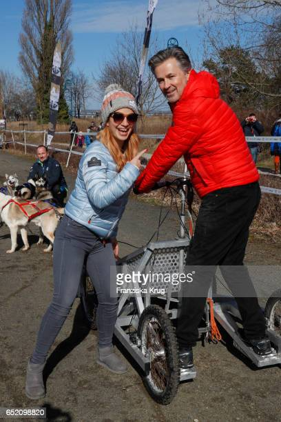 Susan Sideropoulos and Timothy Peach during the 'Baltic Lights' charity event on March 11 2017 in Heringsdorf Germany Every year German actor Till...