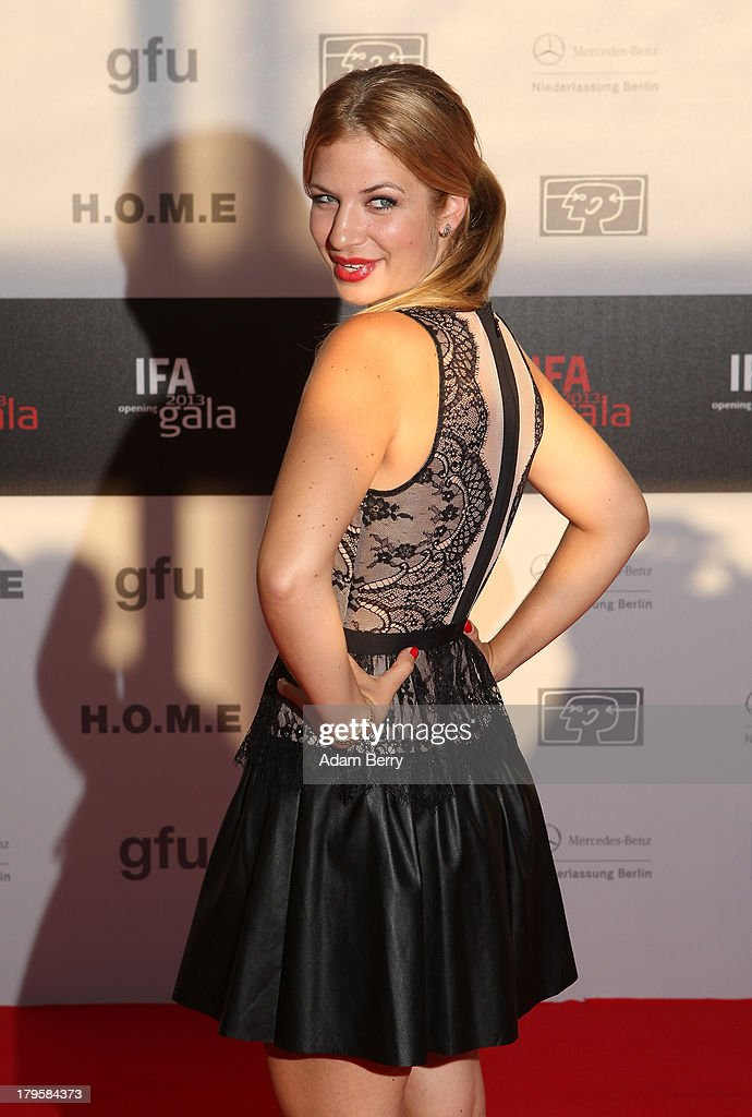 Susan Sideropoulos arrives for the IFA 2013 Consumer Technology Trade Fair Opening Gala at Messe Berlin on September 5, 2013 in Berlin, Germany.