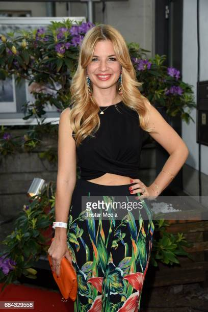 Susan Sideropoulos attends the 25th anniversary party of the TV show 'GZSZ' on May 17 2017 in Berlin Germany