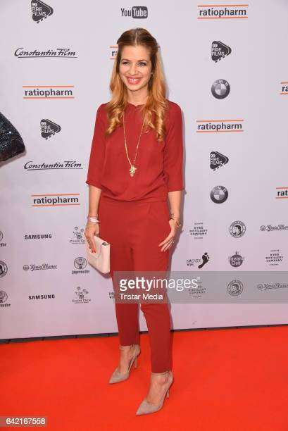 Susan Sideropoulos attends the 99FireFilmsAward at Admiralspalast on February 16 2017 in Berlin Germany