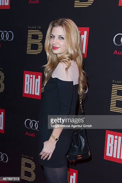 Susan Sideropoulos attends the BILD 'Place to B' Party at Grill Royal on February 8 2014 in Berlin Germany