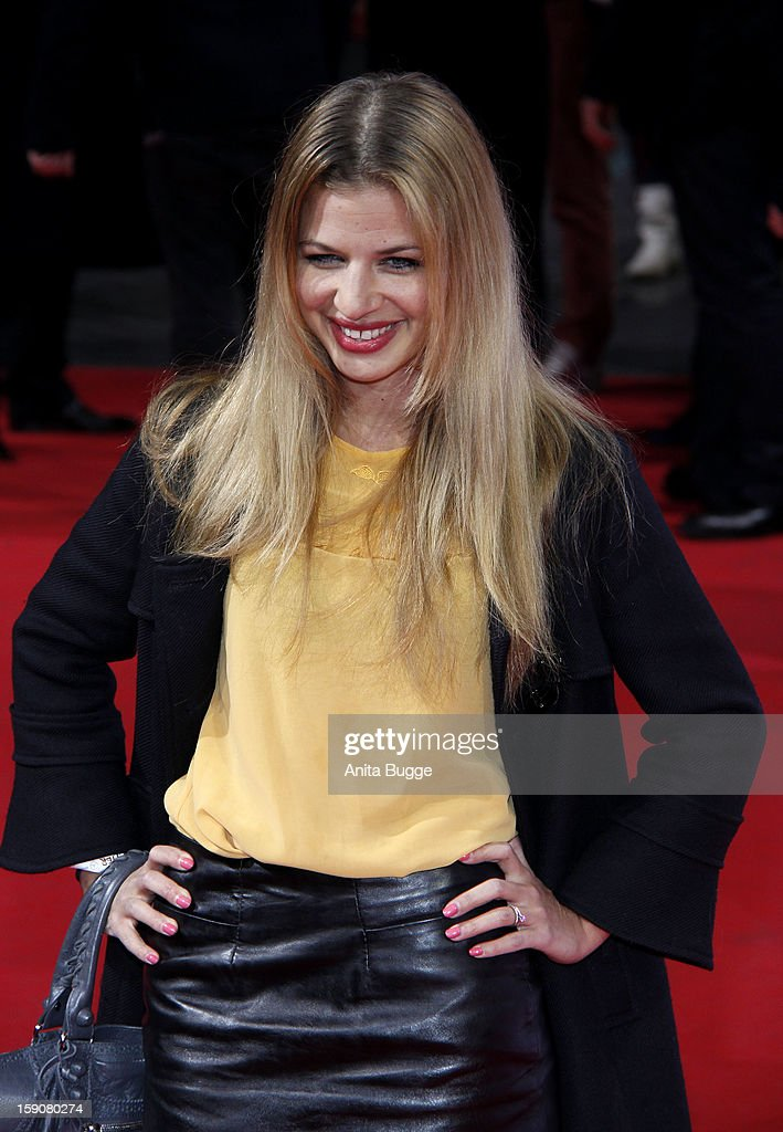 Susan Sideropoulos attends the 'Der Schlussmacher' Berlin Premiere at Cinemaxx on January 7, 2013 in Berlin, Germany