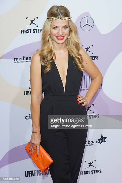 Susan Sideropoulos attends the 'First Steps Award 2014' at Stage Theater on September 15 2014 in Berlin Germany