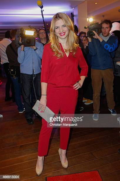 Susan Sideropoulos attends the Jaloucity Kickoff Party Collection Presentation on March 19 2015 in Berlin Germany
