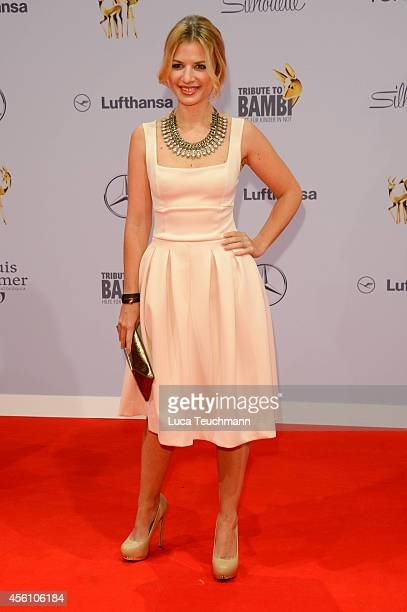 Susan Sideropoulos attends the Tribute to Bambi 2014 at Station on September 25 2014 in Berlin Germany