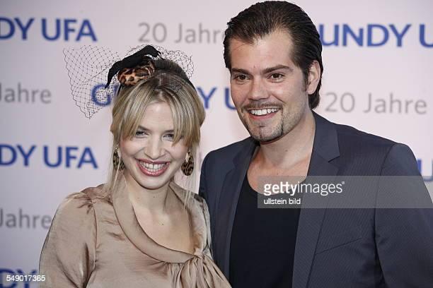 Susan Sideropoulos und Daniel Fehlow auf der JubiläumsGala 20 Jahre GrundyUFA