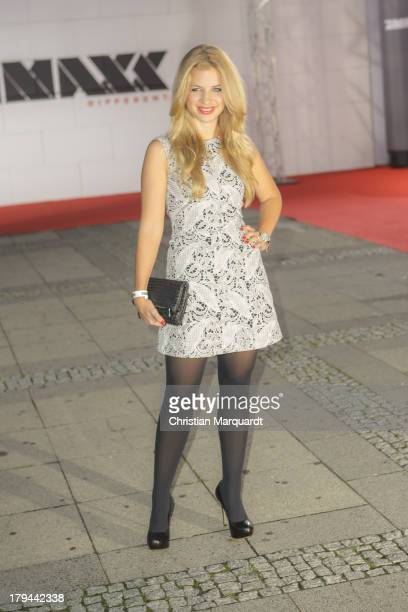 Susan Sideropoulus attends the ProSieben MAXX TV Channel Launch at KOSMOS on September 3 2013 in Berlin Germany