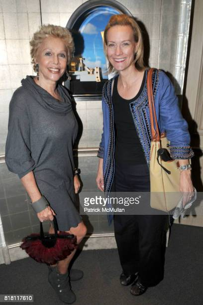 Susan Silver and Jane Furse attend FASHION's NIGHT OUT with VAN CLEEF and ARPELS at Van Cleef and Arpels 5th Ave on September 10th 2010 in New York...