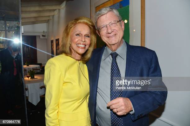 Susan Silver and Jeff Greenfield attend Susan Silver's Memoir Signing Celebration at Michael's on April 20 2017 in New York City