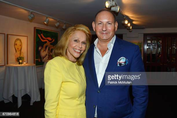 Susan Silver and John Demsey attend Susan Silver's Memoir Signing Celebration at Michael's on April 20 2017 in New York City