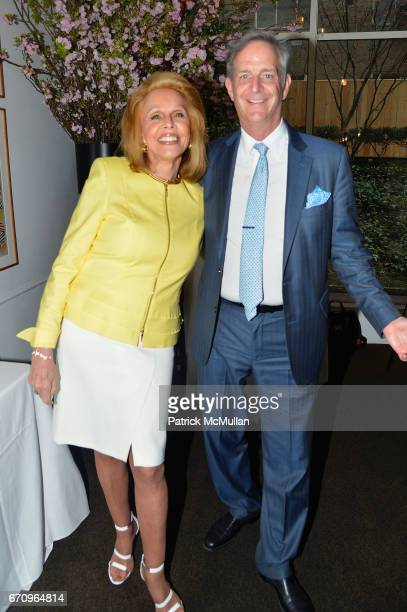 Susan Silver and John LeBoutillier attend Susan Silver's Memoir Signing Celebration at Michael's on April 20 2017 in New York City