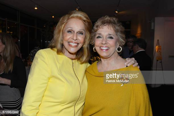 Susan Silver and Linda Lewis attend Susan Silver's Memoir Signing Celebration at Michael's on April 20 2017 in New York City