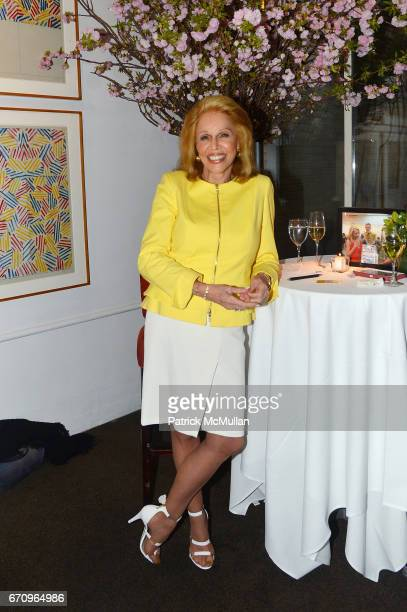 Susan Silver attends Susan Silver's Memoir Signing Celebration at Michael's on April 20 2017 in New York City