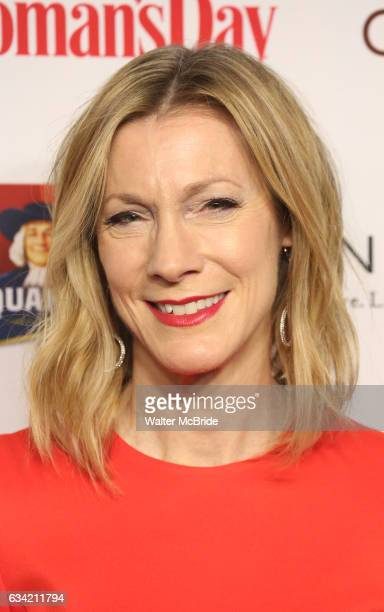 Susan Spencer attends the 14th Annual Red Dress Awards presented by Woman's Day Magazine at Jazz at Lincoln Center Appel Room on February 7 2017 in...