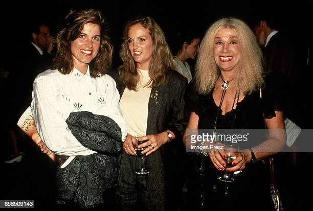 Susan St James Patricia Hearst and Sylvia Miles circa 1988 in New York City