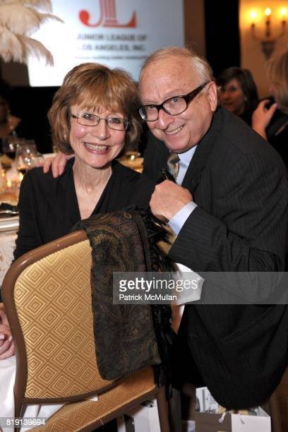 Susan Steinhauser and Daniel Greenburg attend JUNIOR LEAGUE LEGACY BALL HONORING HENRY WINKLER at Montage Hotel on March 6 2010 in Beverly Hills...