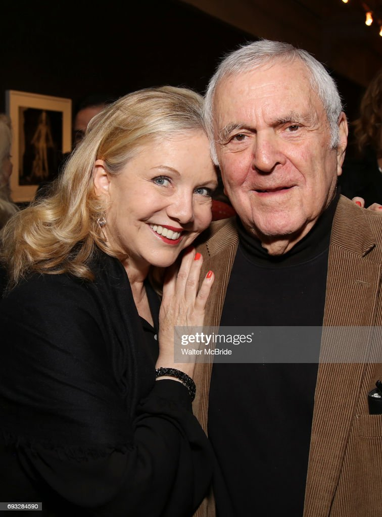 Susan Stroman and John Kander attends the Vineyard Theatre's Annual Emerging Artists Luncheon at The National Arts Club on June 6, 2017 in New York City.