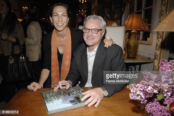 Susan Sully and Bobby McAlpine attend Book Party for BOBBY MCALPINE'S 'THE HOME WITHIN US' from RIZZOLI at Treillage on May 18th 2010 in New York City