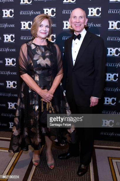 Susan Swain and Rob Kennedy attend the 2017 Broadcasting Cable Hall Of Fame 27th Anniversary Gala at Grand Hyatt New York on October 16 2017 in New...