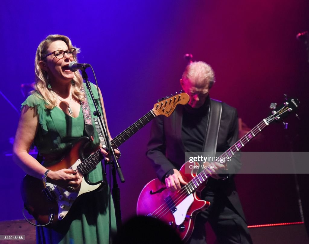 Susan Tedeschi of Tedeschi Trucks Band and Jack Casady of Hot Tuna perform at The Fox Theatre on July 15, 2017 in Atlanta, Georgia.
