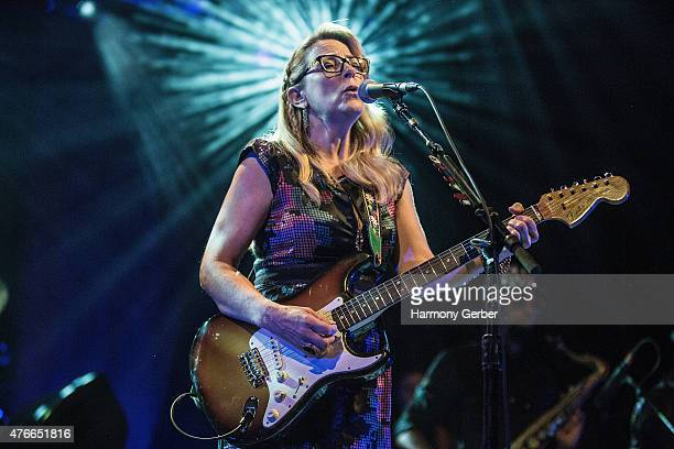 Susan Tedeschi of Tedeschi Trucks Band at The Greek Theatre on June 10 2015 in Los Angeles California