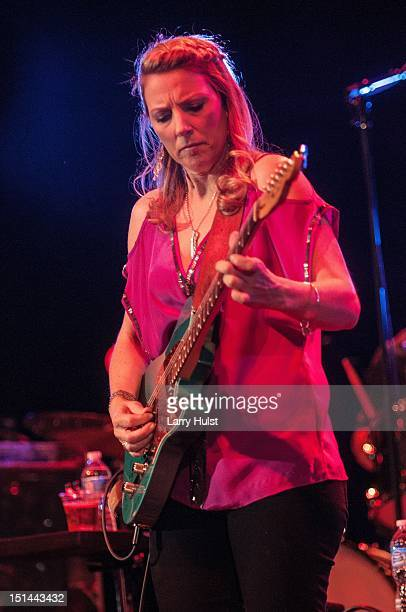 Susan Tedeschi performing with the Tedeschi Trucks Band at Red Rocks Amphitheater in Morrison Colorado on August 30 2012