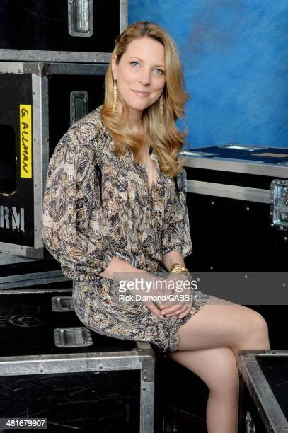 Susan Tedeschi poses for a portrait at All My Friends Celebrating the Songs Voice of Gregg Allman at The Fox Theatre on January 10 2014 in Atlanta...