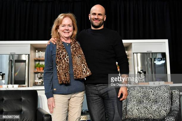 Susan Ungaro President of the James Beard Foundation and Sam Kass former White House Chef speak onstage at Southern Glazer's Wine Spirits of New York...