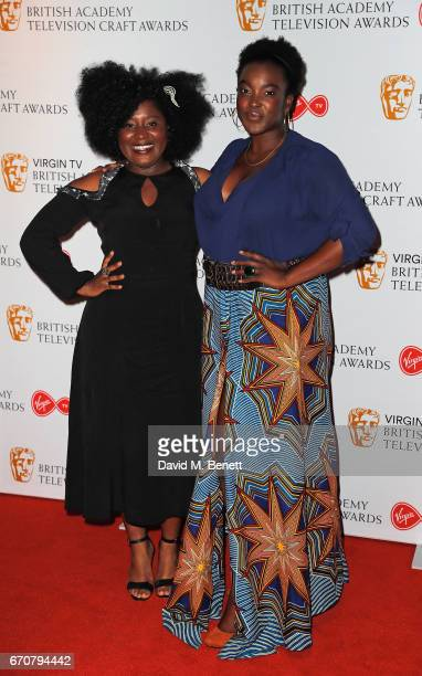Susie Wokoma and attends the British Academy Television and Craft Awards nominations party at Mondrian London on April 20 2017 in London England