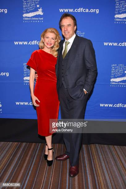 Susan Yeagley and Kevin Nealon attend the Children's Defense FundCalifornia's 27th Annual Beat The Odds Awards at the Beverly Wilshire Four Seasons...