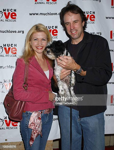 Susan Yeagley and Kevin Nealon during 3rd Annual Celebrity Comedy Benefit Helping Much Love Animal Rescue at Laugh Factory in Hollywood California...