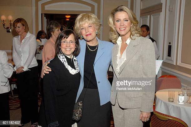 Susan Zirinsky Lesley Stahl and Deborah Norville attend Ann And Andrew Tisch Invite You To Join Them In Marketing The Publication BREATHING THE FIRE...