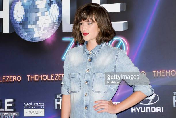 Susana Abaitua attends to The Hole Zero Photocalls in Madrid on May 11 2017 Madrid Spain