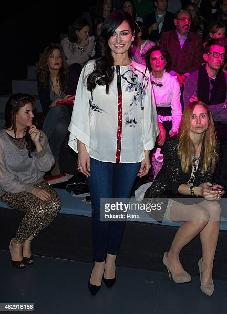 Susana Cordoba is seen attending the catwalks during Madrid Fashion Week Fall/Winter 2015/16 at Ifema on February 7 2015 in Madrid Spain