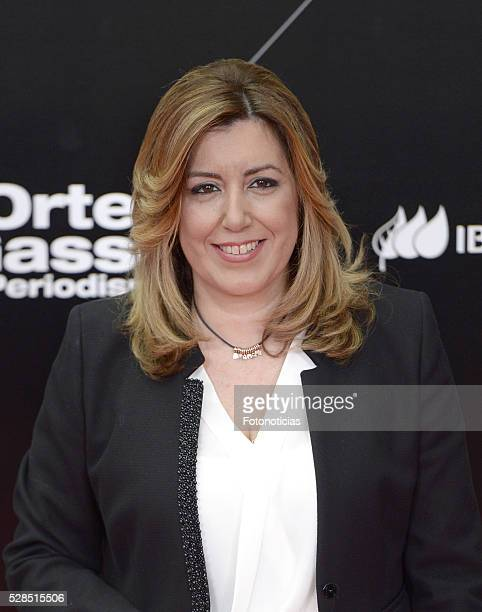 Susana Diaz attends the El Pais 40th anniversary dinner and 'Ortega y Gasset' awards ceremony at the Palacio de Cibeles on May 5 2016 in Madrid Spain