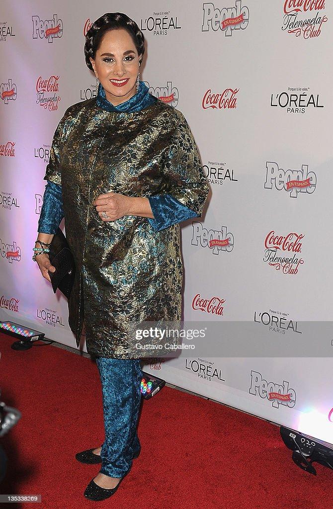 Susana Dosamantes attends People en Epanol's Las Estrellas del Ano 2011 at Rubell Family Collection on December 8, 2011 in Miami, Florida.