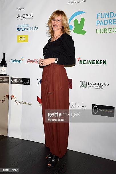 Susana Griso attends architect Joaquin Torres charity cocktail at ACero In on December 10 2012 in Madrid Spain