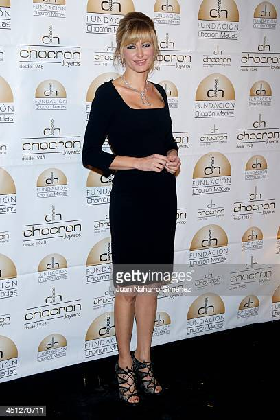 Susana Griso attends Chocron Jewelry Charity Catalogue presentation at Teatriz Restaurant on November 21 2013 in Madrid Spain