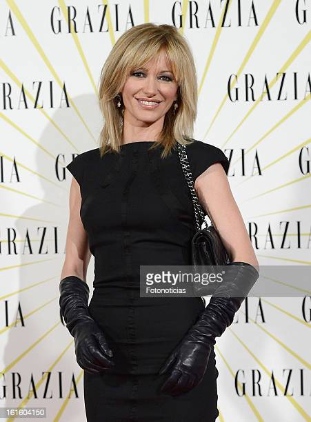 Susana Griso attends Grazia Magazine launch party at the Circo Prize Theater on February 12 2013 in Madrid Spain