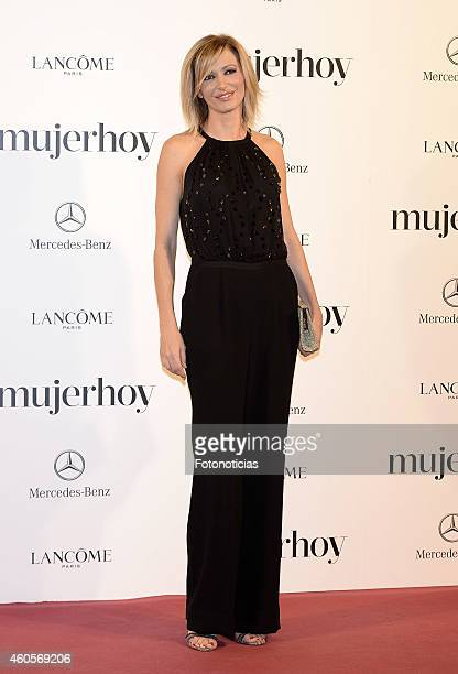 Susana Griso attends the 2014 Mujer Hoy Awards at The Palace Hotel on December 16 2014 in Madrid Spain