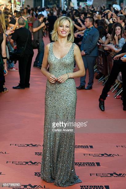 Susana Griso attends the 6th FesTVal Television Festival 2014 closing ceremony at the Principal Theater on September 6 2014 in VitoriaGasteiz Spain