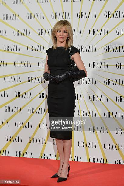 Susana Griso attends the 'Grazia' magazine launch party at the Price theater on February 12 2013 in Madrid Spain