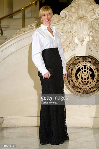 Susana Griso attends the Ralph Lauren Dinner Charity Gala at the Casino de Madrid in on November 14 2013 in Madrid Spain