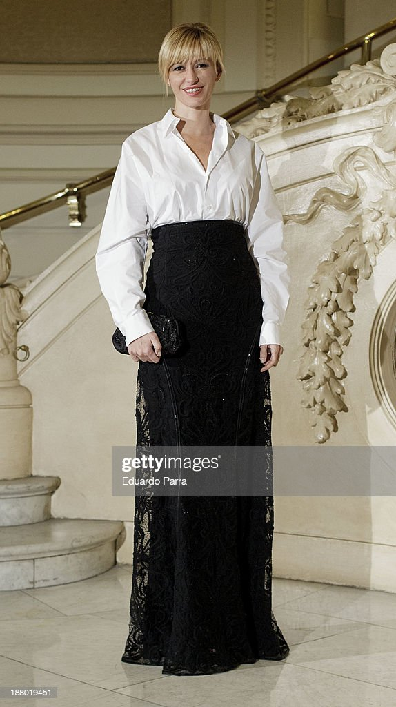Susana Griso attends the Ralph Lauren Dinner Charity Gala at the Casino de Madrid on November 14, 2013 in Madrid, Spain.