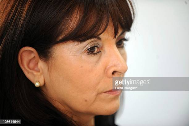 Susana Trimarco mother of Marita Veron a girl kidnapped in 2002 in the province of Tucuman during the contest Miss World Argentina 2010 on August 24...