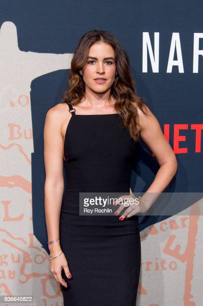 Victoria Perez attends 'Narcos' season 3 New York screening at AMC Loews Lincoln Square 13 theater on August 21 2017 in New York City