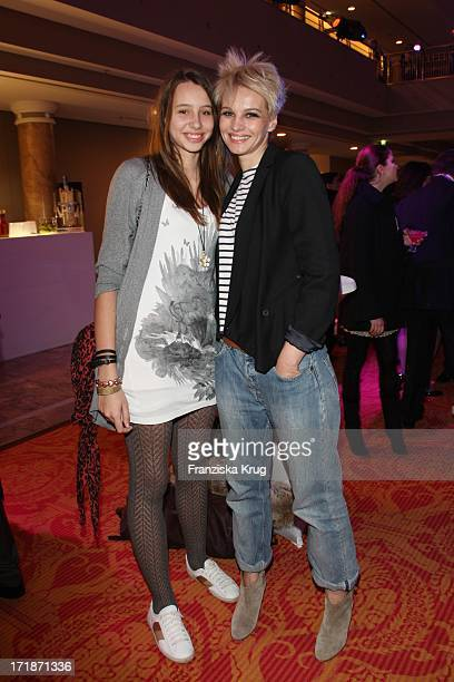 Susann Atwell And Daughter Emma at Event Prominent at the Grand Elysee in Hamburg