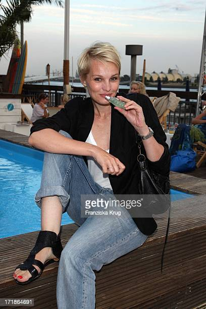 Susann Atwell At Launch OfTrue Religion Jeans And Perfume in Hamburg