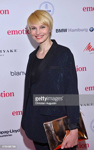 Susann Atwell attends Emotion Award at the Laeiszhalle on June 9 2015 in Hamburg Germany