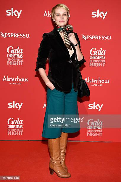 Susann Atwell attends GALA Christmas Shopping Night 2015 at Alsterhaus on November 19 2015 in Hamburg Germany